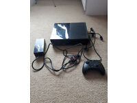 Xbox One with 6 games and 1 wireless controller