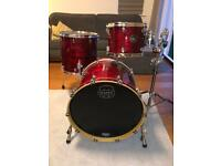 Mapex Saturn IV 3-piece drum kit with stand and cases