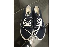 Men's Navy Vans - UK 11