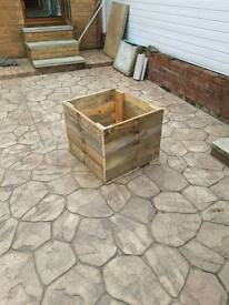 Square planter for sale