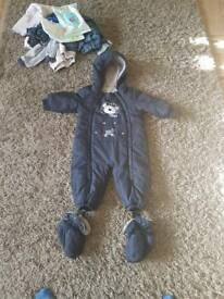 Toddler winter suit