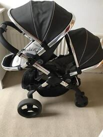 Icandy peach 3 blossom double buggy