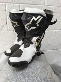 Alpine Star Boots - Size 8