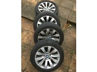 wheels and tires £225