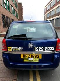 Vauxhall Zafira seven seater diesel automatic