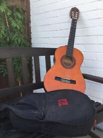 Child's Guitar and case