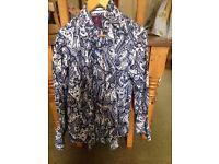 Paisley design men's shirt