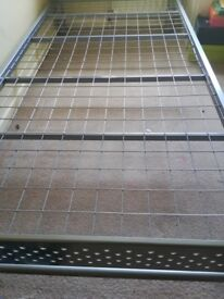 Single bed frame (can include free mattress!)