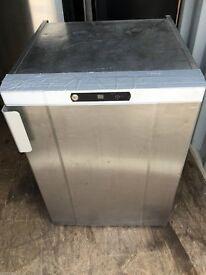 Gram Commercial Under Counter 125ltr Fridge / Stainless Steel Chiller