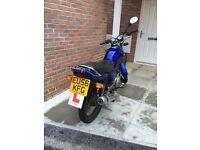 Yamaha ybr 125cc £800o.n.o not piaggio nrg aprillia moped