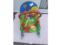 Toddler Rocker Bouncer Seat Baby Infant Chair Sleeper Swing