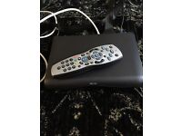TELEVISION SKY BOX WITH ALL CONNECTIONS