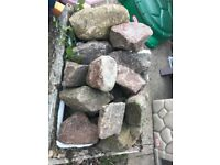 Large Rocks for rockery or other