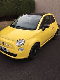 fiat 500 pop 1.2, 83k just serviced, panoramic sunroof not abarth lounge sport