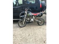 110 pit bike spares or repair