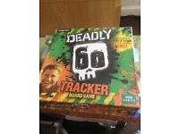 Game DEADLY 60 TRACKER BOARD GAME