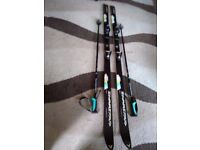 Dynastar 190cm Duel Action 957 Salomon Bindings Ski's & Poles