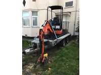 Mini Digger day hire