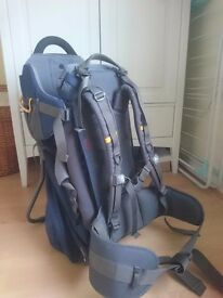 Vaude baby backpack carrier hardly been used £40