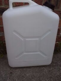 Large plastic container/water carrier