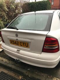 X reg Vauxhall Astra 1.7 Diesel 12 month MOT