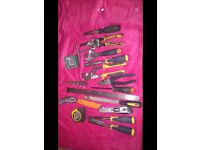Various hand quality hand tools