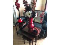 Table vases mirrors