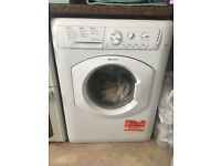 Hotpoint white 7kg washing machine HV7L1451