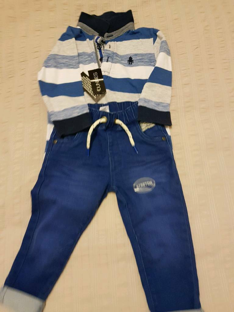 BNWT trouser top and jumper set
