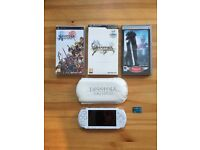 Sony PSP console and games - Ltd Edition