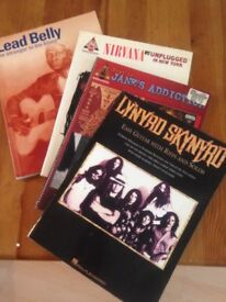 Various American music songbooks.