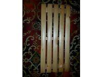 wooden bath seat