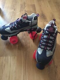 New and boxed Sketchers roller skates, ladies size 6 - never used