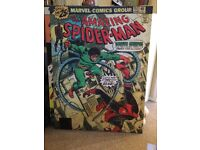 Spider-Man and Captain America wall canvases