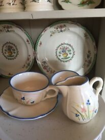 Tea set by Schmider, Germany