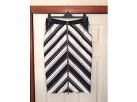 Knee length skirt size 12