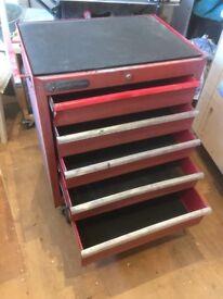 Sykes Pickavant Roller Tool Chest for Garage / Workshop
