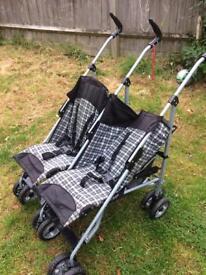 Brand new double stroller