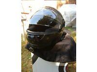 Motorcycle helmet Black - size M - only worn once - Birmingham sale!