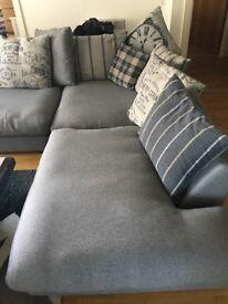 Large open corna sofa