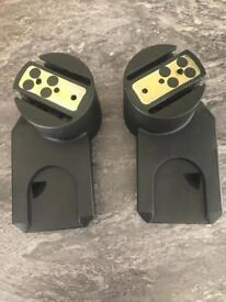 Quinny Zapp adaptors for Maxi Cosi car seat