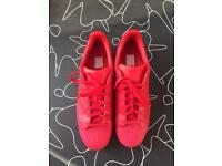 As New Men's Adidas Superstar Red size 12