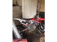 2012 Honda crf rolling chassis