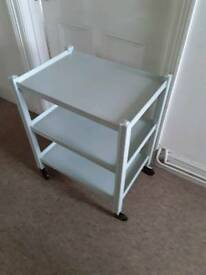 Upcycled very useful trolley or shelf unit
