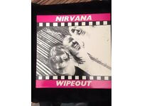 Nirvana Wipeout white label extremely rare!!!