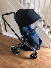 Cybex Priam All Terrain Chassis, Lux Seat & Carrycot