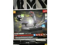 Speedlink Black Widow flight stick.