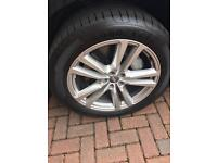 Audi q7 brand new alloys and tyres