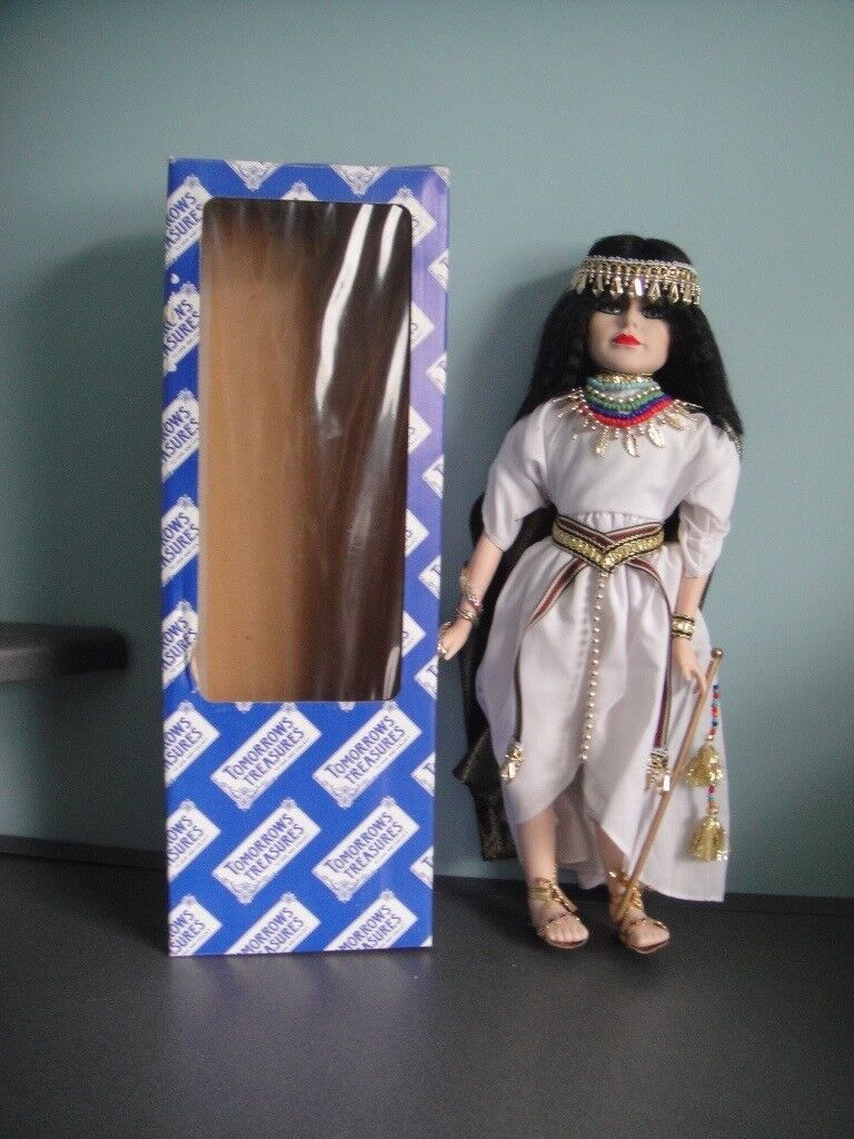 "Tomorrows Treasures Egyptian Doll 17"""