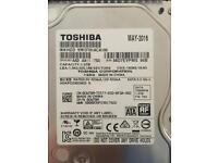 """Toshiba 1TB internal 3.5"""" HDD"""